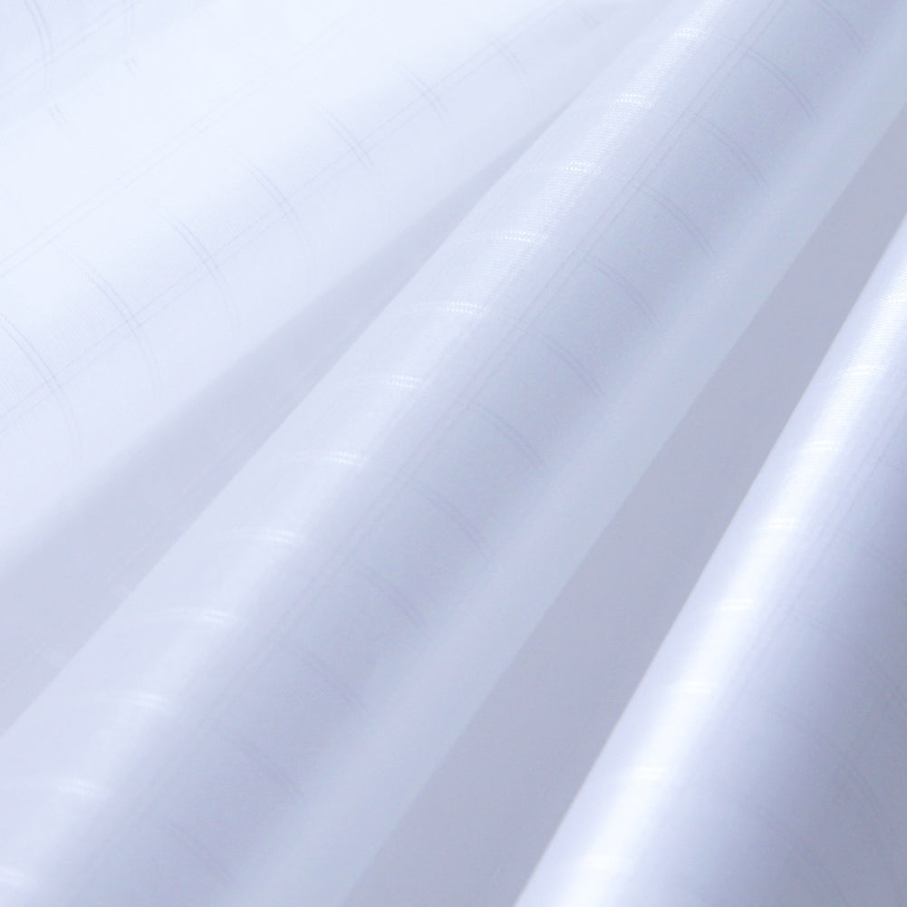White PC20 Ripstop Polyester Fabric