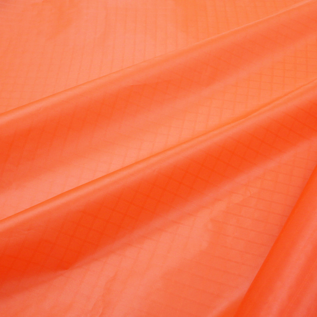 Fluorescent Orange PC20 Ripstop Fabric
