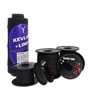 Black Kevlar Line Braided Kite String