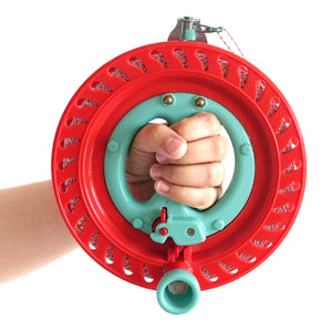 7inch Lockable Kite Reel Red