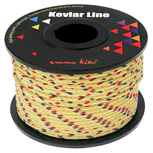 Brighter Color Braid Kevlar Line Utility Cord 100Ft 350Lb