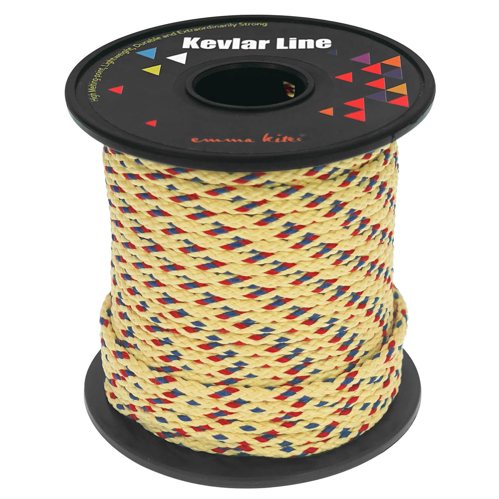 Brighter Color Braid Kevlar Line Utility Cord 50Ft 1000Lb