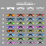colorful Windrider Ⅱ Quad Line Stunt Kite