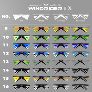 8 colors for each kind of Windrider Ⅱ Ⅹ Quad Line Stunt Kite PC31