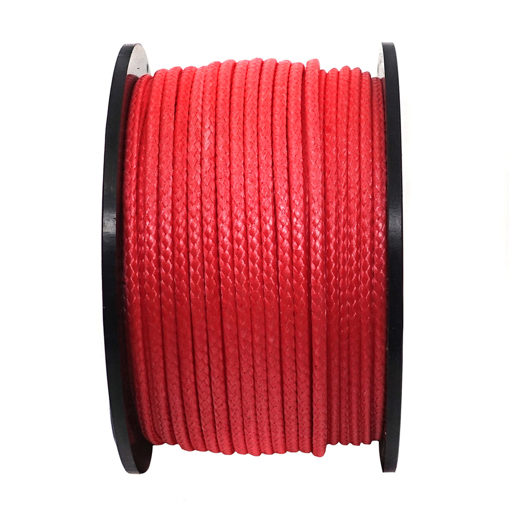 220~1,000Lb Red UHMWPE Braided Line Spool
