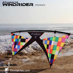 MOSAIC Windrider Quad Line Stunt Kite Set