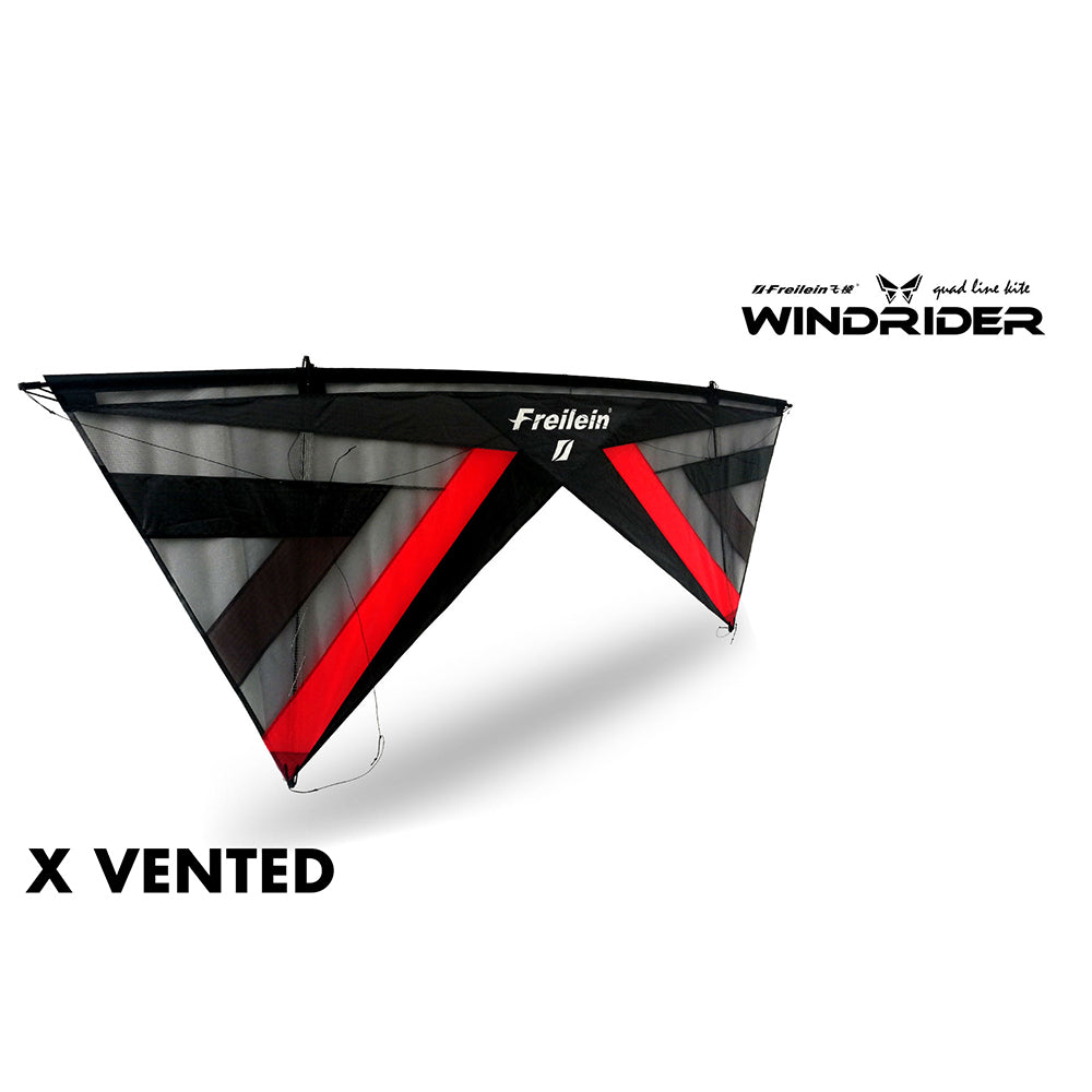 X Vented Windrider Ⅱ Quad Line Stunt Kite PC20