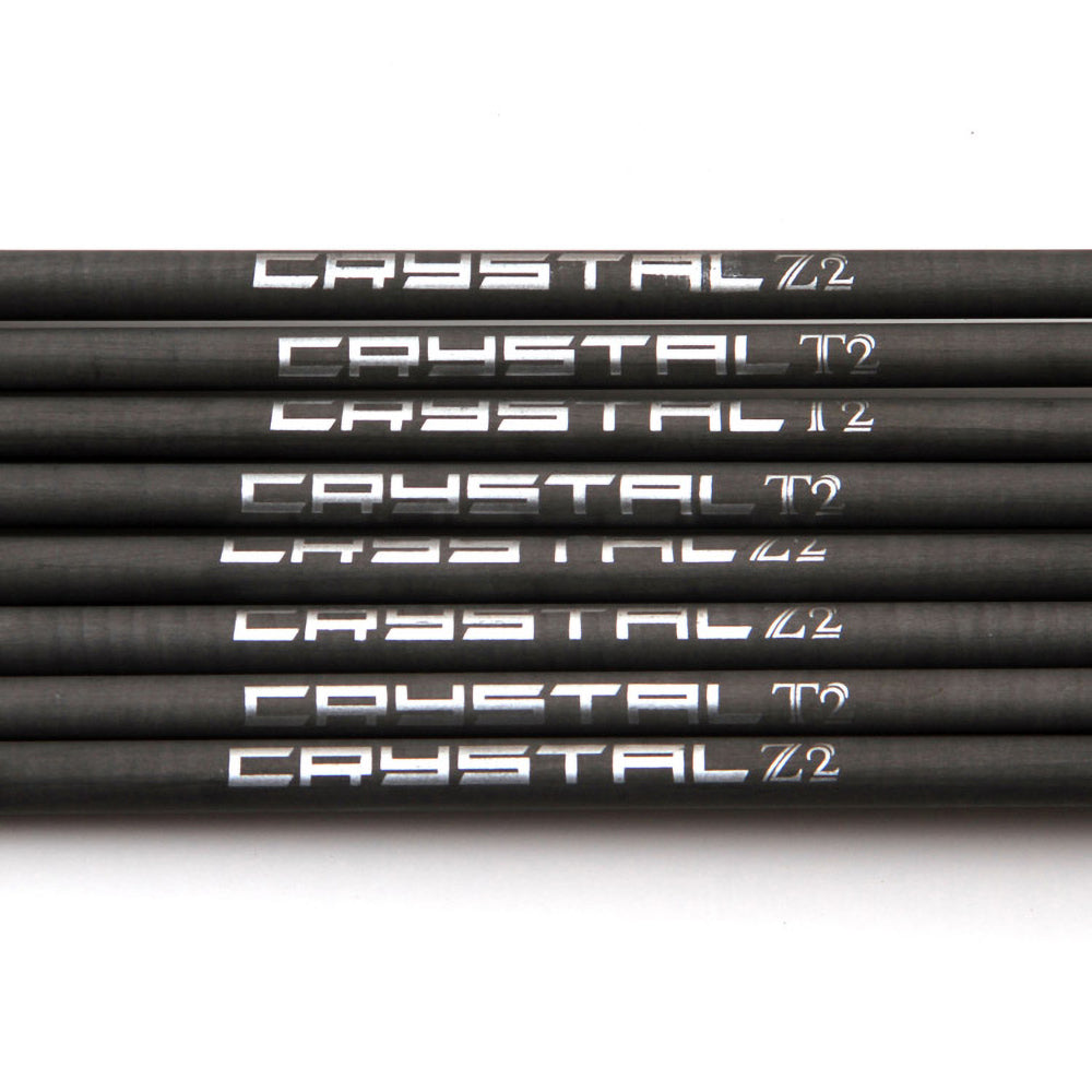 Conical Tube Kite Rod Wrapped Carbon Crystal Z2