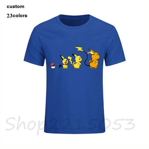 Pokemon Anime Nintendo Pikachu Pokeball Video Game Men manga tshirt japanese cartoon t-shirt kids boy girl birthday gift t shirt