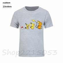 Load image into Gallery viewer, Pokemon Anime Nintendo Pikachu Pokeball Video Game Men manga tshirt japanese cartoon t-shirt kids boy girl birthday gift t shirt
