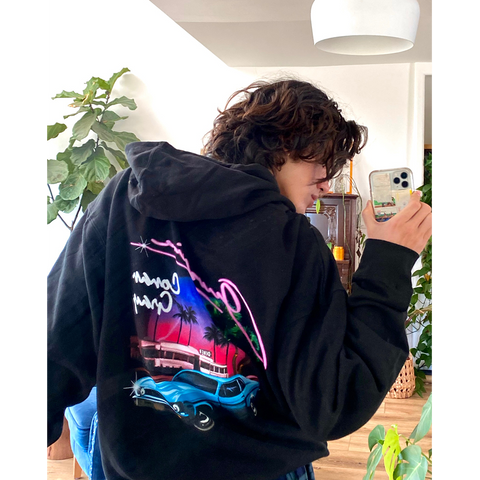 OVERDRIVE CAR HOODIE