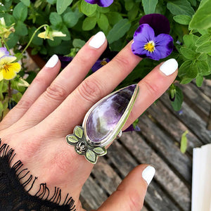 Sweet Root Ametrine Ring