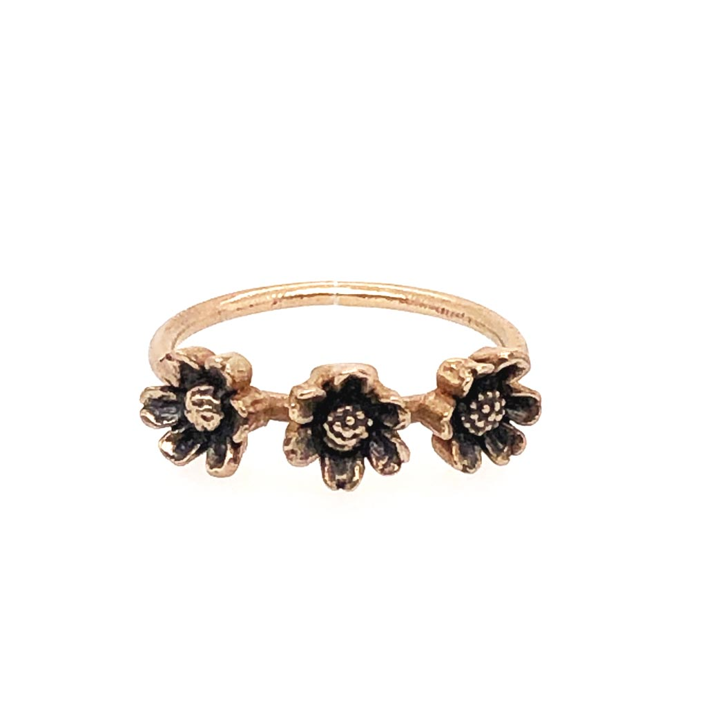 Daisy Ring / Daisy Ring Made by Ivry Belle Jewelry