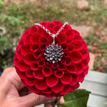Load image into Gallery viewer, Dahlia Necklace / Dahlia Necklace Made by Ivry Belle Jewelry