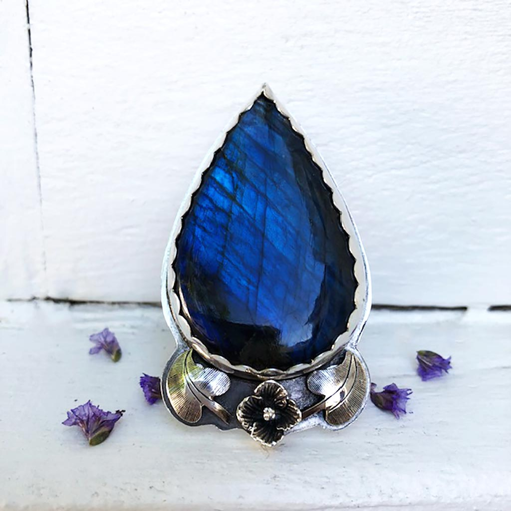Sea Love Labradorite Ring