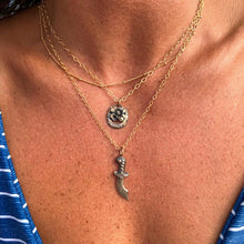 Load image into Gallery viewer, Dagger Necklace Made by Ivry Belle Jewelry / Dagger Necklace