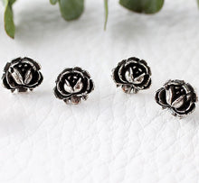 Load image into Gallery viewer, Rose Studs Made by Ivry Belle Jewelry / Rose Studs