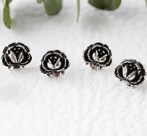 Rose Studs Made by Ivry Belle Jewelry / Rose Studs