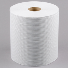 "Load image into Gallery viewer, Lavex Janitorial 8"" White Hardwound Paper Towel, 800 Feet / Roll - 6/Case"