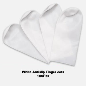 Abeso Disposable nitrile finger Cots sleeve anti-static fingertip sleeve waterproof beauty electronics Hand Set safety equipment