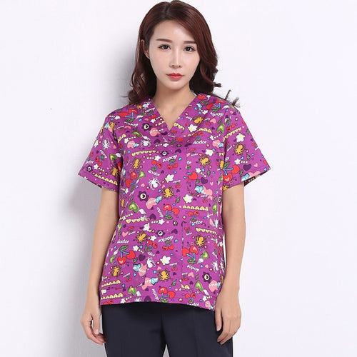 High Quality Mediecal Uniform 2018 News Surgical Cap Lab Coat Clinical Uniforms Woman Nurse Scrub Men Medical Costume Cartoon
