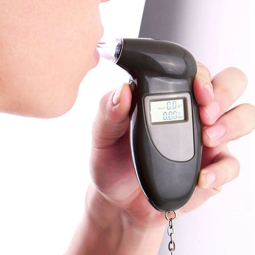 LCD Dispaly Professional Digital Alcohol Tester Breathalyzer Analyzer Detector Test Alkomat Breathaly Device LCD Screen Test