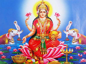 When the Goddess Calls: Lakshmi