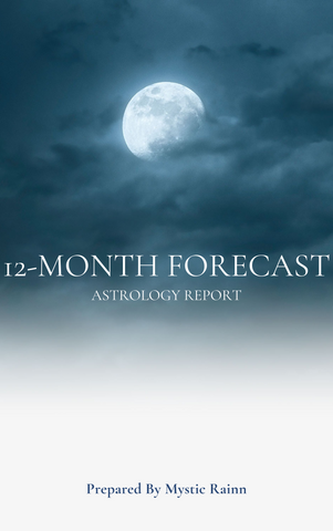 12-Month Forecast Astrology Report