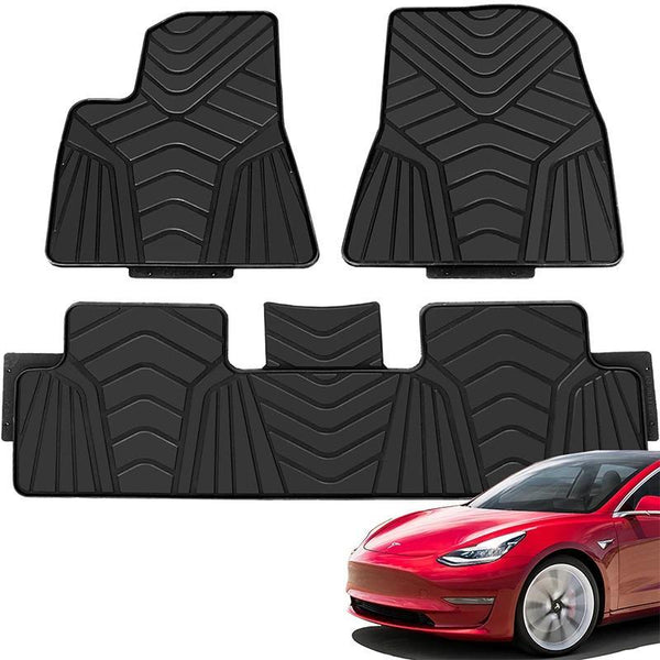 Tesla Model 3 Floor Mat Set