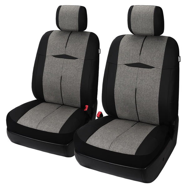 X-Series Coronado Faux Leather Seat Cover, Includes Driver and Passenger Covers, Universal fit - LeadPro Inc