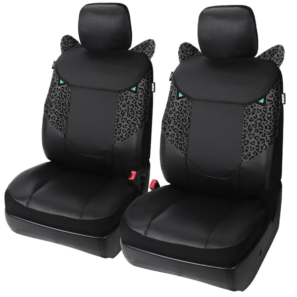 X-Series Prowl Faux Leather Seat Cover, Includes Driver and Passenger Covers, Universal fit - LeadPro Inc