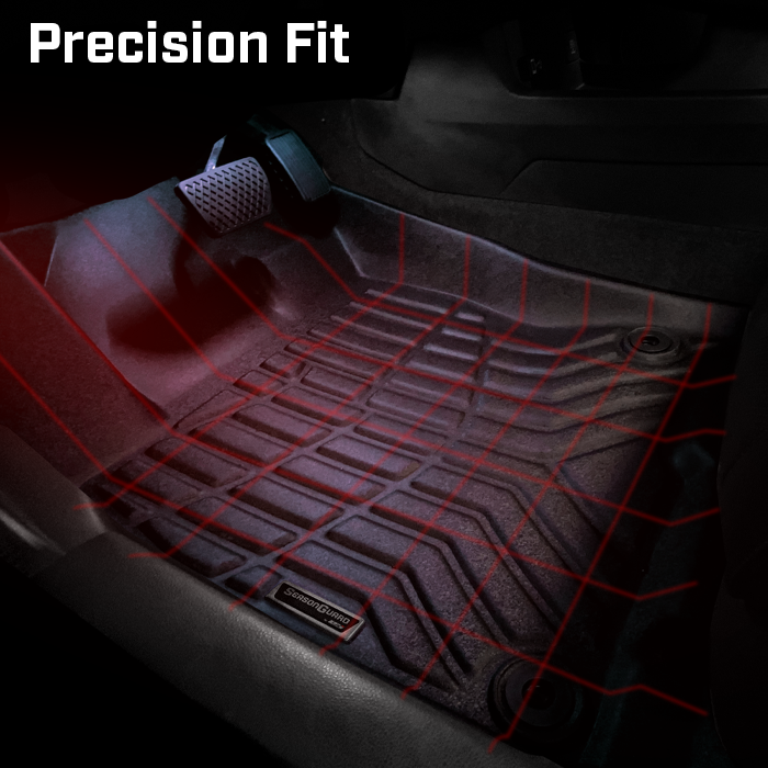 Season Guard 3D Floor Mat fits Jeep Grand Cherokee 2011-2018 Front and Rear Seat 3pc - LeadPro Inc