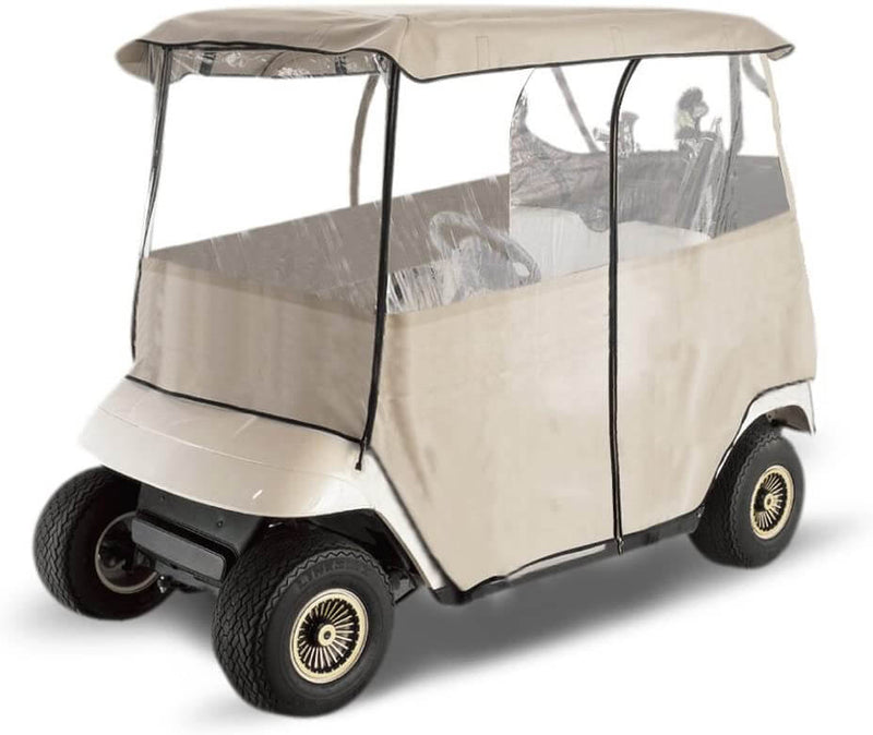 Deluxe 2-passenger Golf Car Enclosure