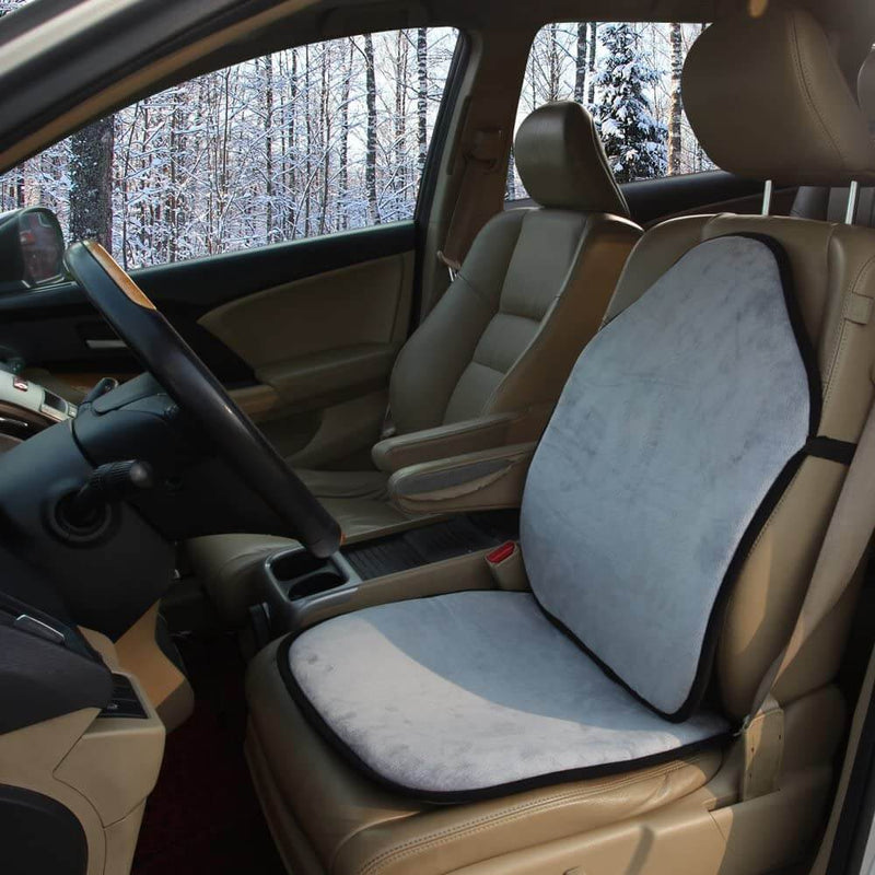 Multi Function Universal Seat Covers Cushion, Dual Sided Material for Summer & Winter, 1 seat cover - LeadPro Inc