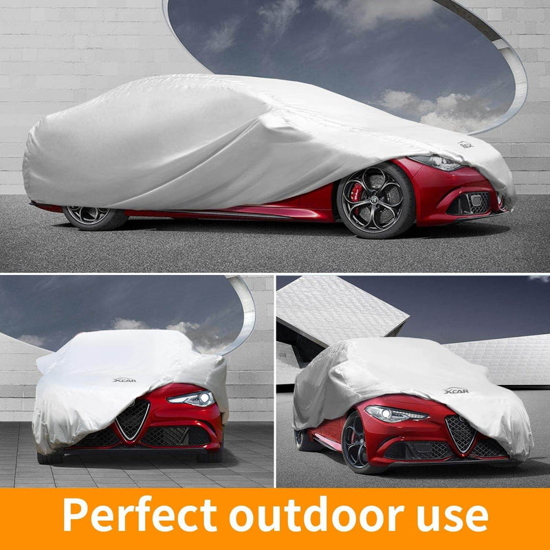 Solar Shield Car Cover | Fits Cars Up to 200/228 Inch