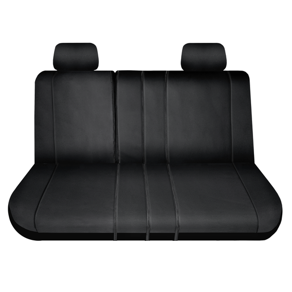 Protector XT 2nd & 3rd Row Bench Seat Cover, Black, Universal fit - LeadPro Inc