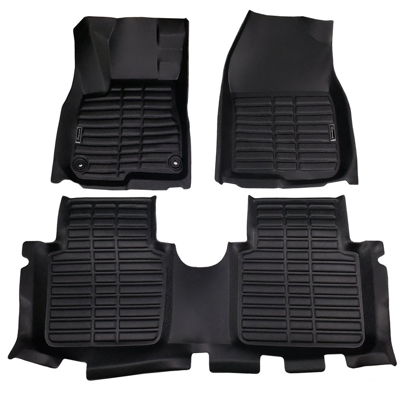 Season Guard Floor Mat fits Honda CR-V 2018-2019 Front and Rear Seat 3pc - LeadPro Inc