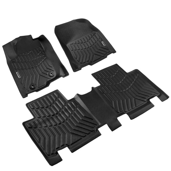 Season Guard 3D Floor Mat fits Toyota Rav4 2013-2018  Front and Rear Seat 3pc - LeadPro Inc