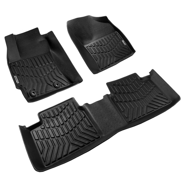 Season Guard 3D Floor Mat fits Toyota Corolla 2014-2018 Front and Rear Seat 3pc - LeadPro Inc