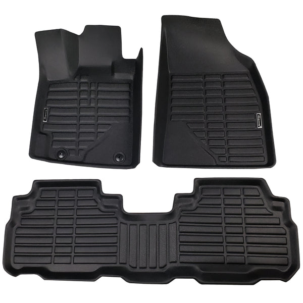 Season Guard Floor Mat fits Toyota Highlander 2007-2013  Front and Rear Seat 3pc