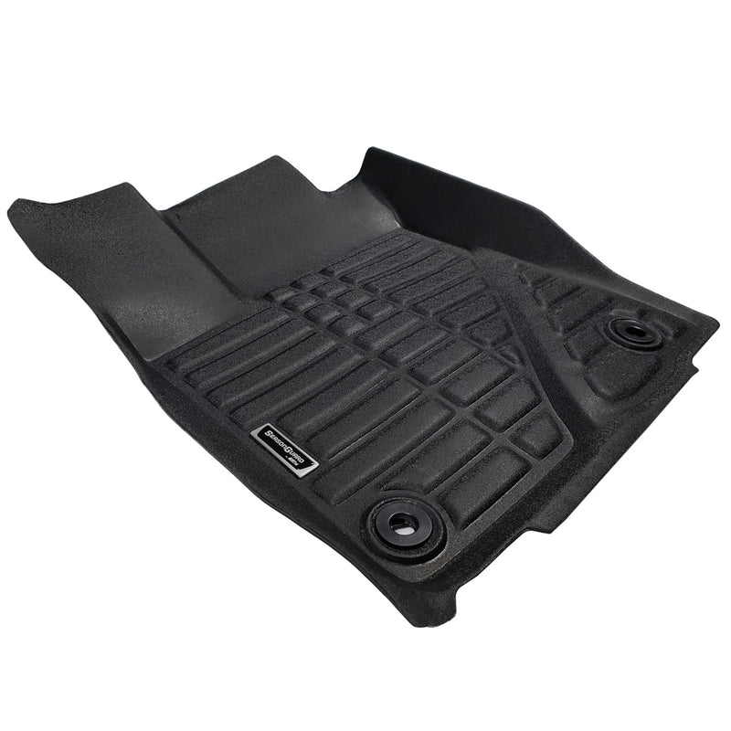 Season Guard Floor Mat fits Toyota Highlander 2015-2019  Front and Rear Seat 3pc - LeadPro Inc