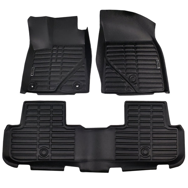Season Guard Floor Mat fits Toyota Highlander 2015-2019  Front and Rear Seat 3pc