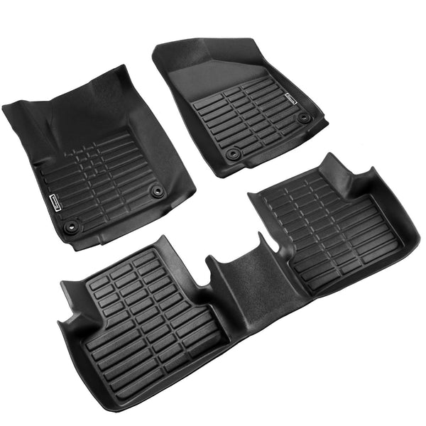 Season Guard 3D Floor Mat fits Jeep Cherokee 2016-2018  Front and Rear Seat 3pc - LeadPro Inc