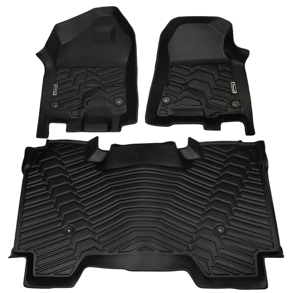 Season Guard Floor Mat fits Dodge Ram 1500 2019  Front and Rear Seat 3pc