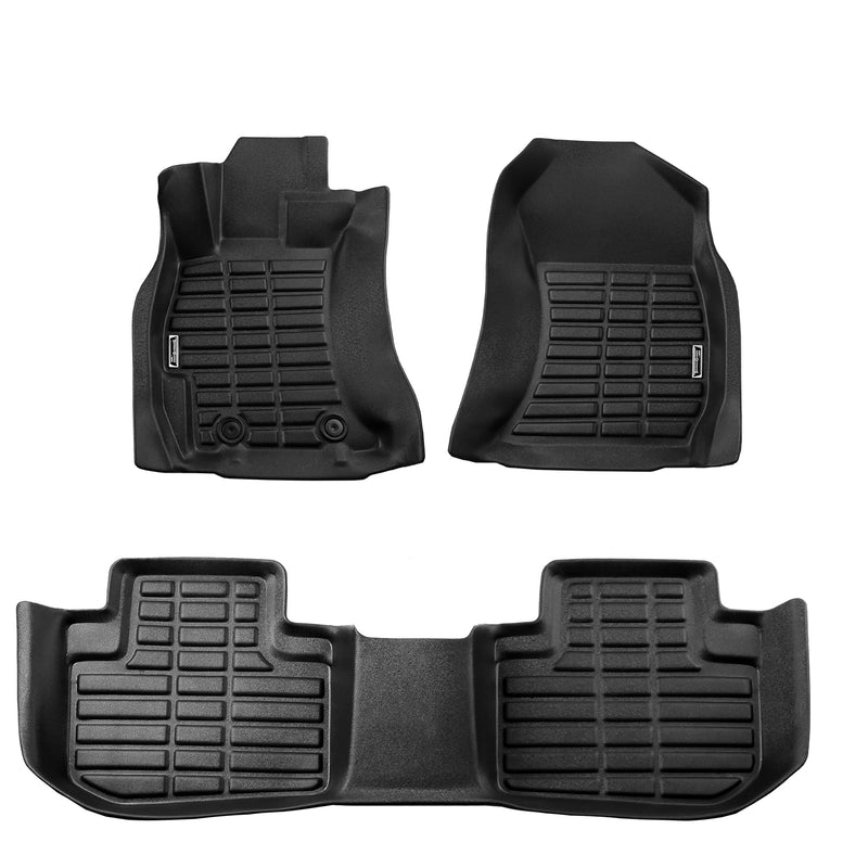 Season Guard 3D Floor Mat fits Subaru Forester 2013-2018 Front and Rear Seat 3pc - LeadPro Inc