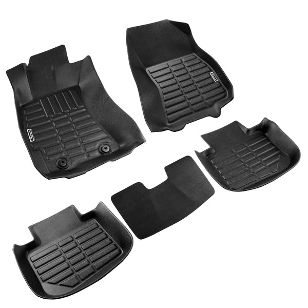 Season Guard 3D Floor Mat fits Subaru Outback 2010-2019 Front and Rear Seat 5pc - LeadPro Inc