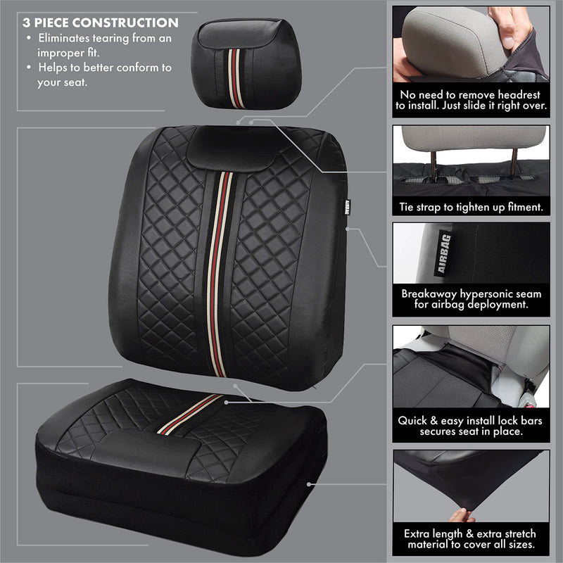car seat covers automotive auto cover accessories honda accord silverado crv rav4 truck f150 ram civic chevy ford dodge nissan toyota silverado GMC prius suv van jeep camaro mustang tacoma wrangler sits floor mat steering wheel
