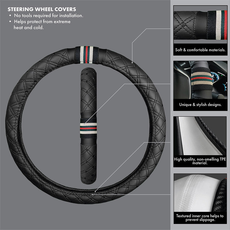 Seat Cover, Floor Mat, Steering Wheel Cover, auto accessories, truck accessories