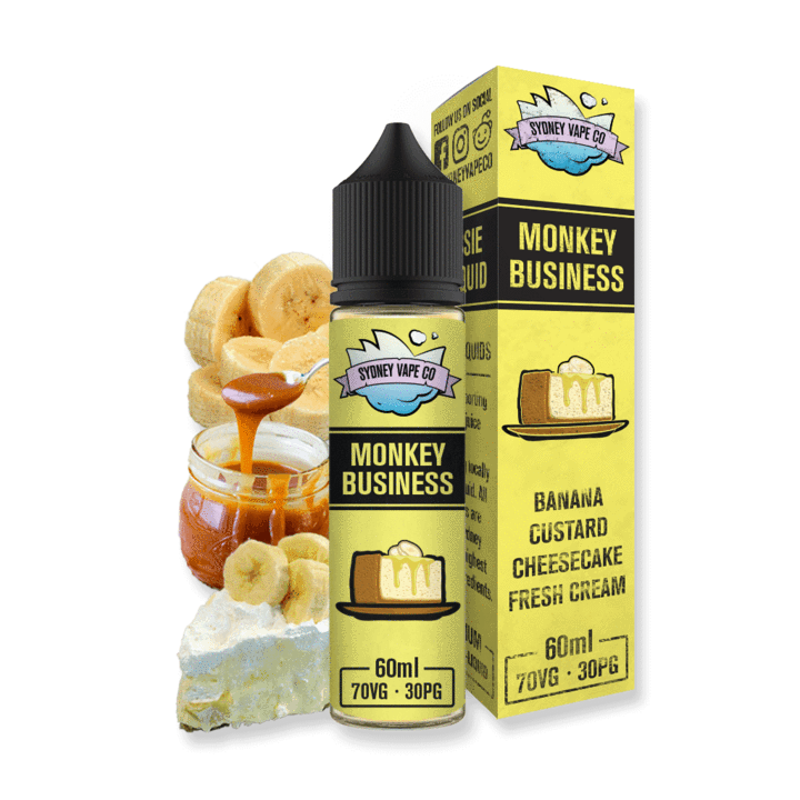 Sydney Vape Co - Monkey Business