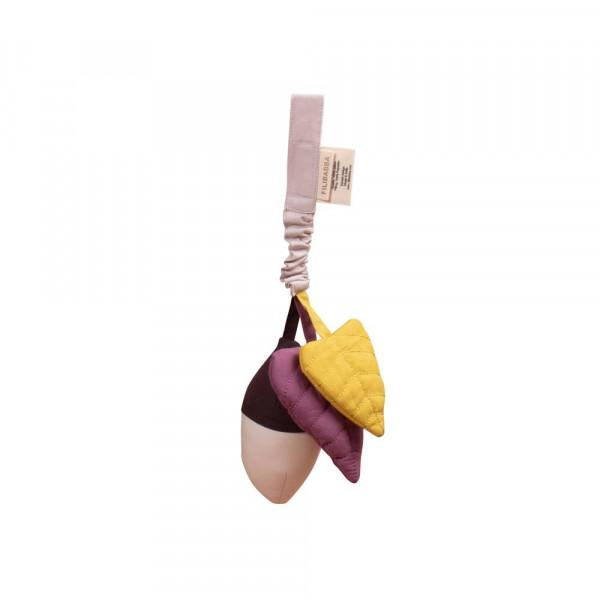 Filibabba acorn bell Plum - All About Kids Odense